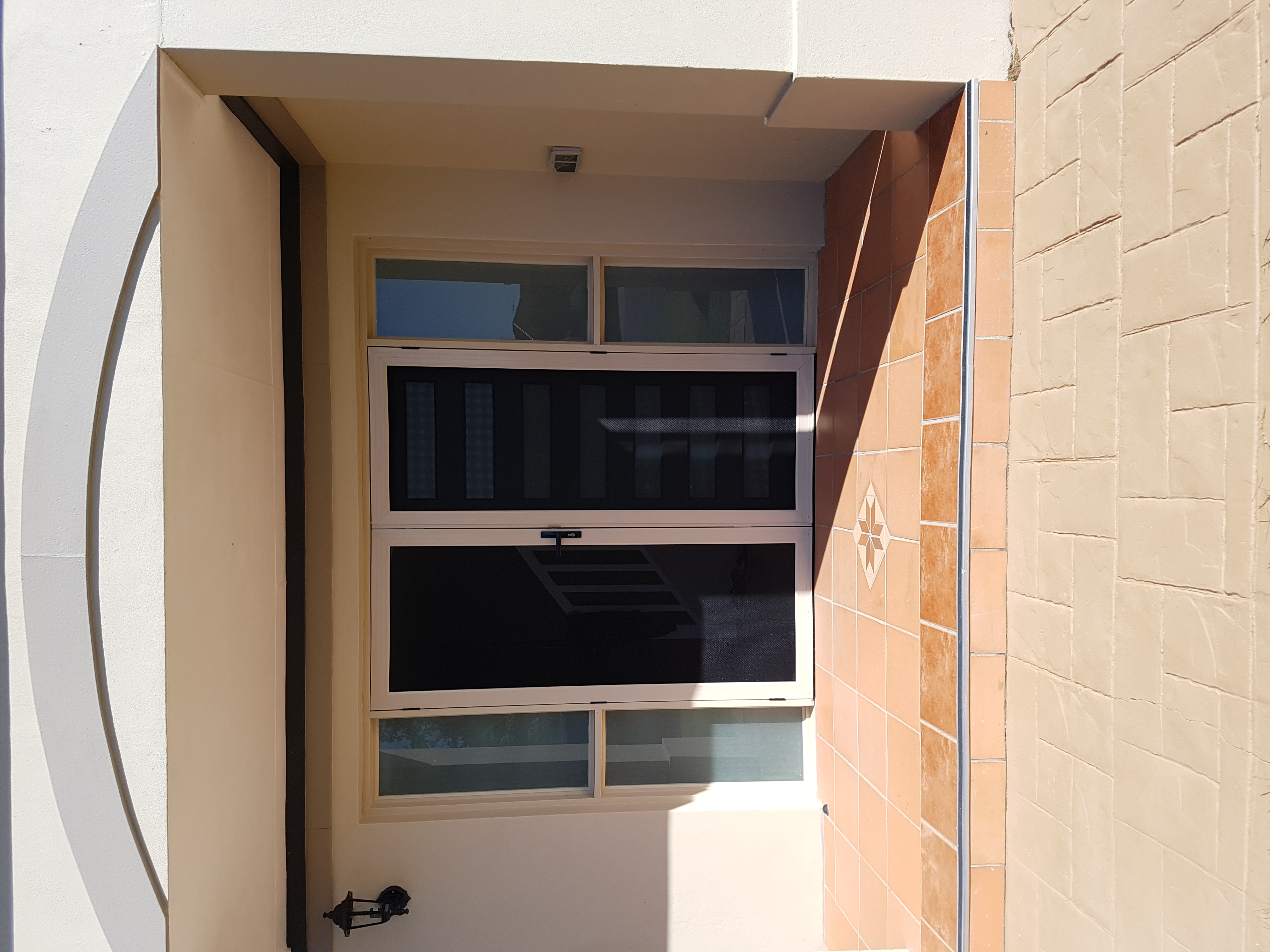 Stretton - double front security doors