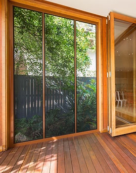 Prowler Proof sliding stacking security doors ForceField Annerley