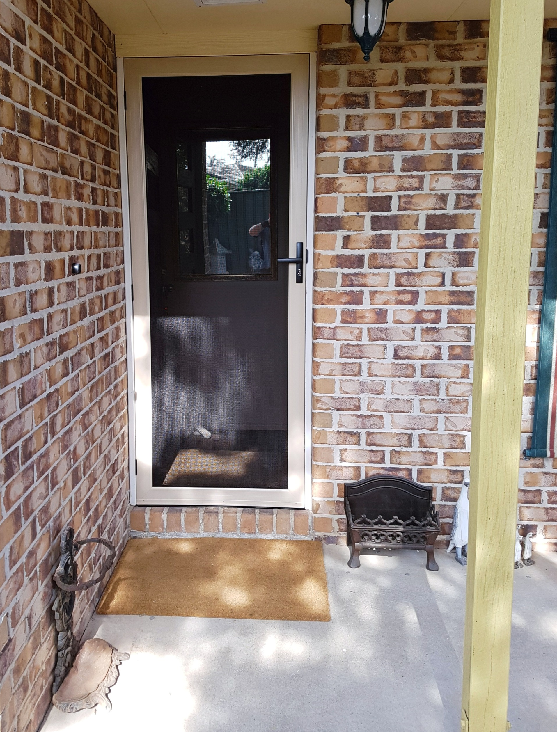 Crestmead - front security door
