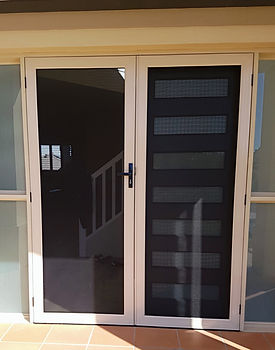 Panther Protect security french doors