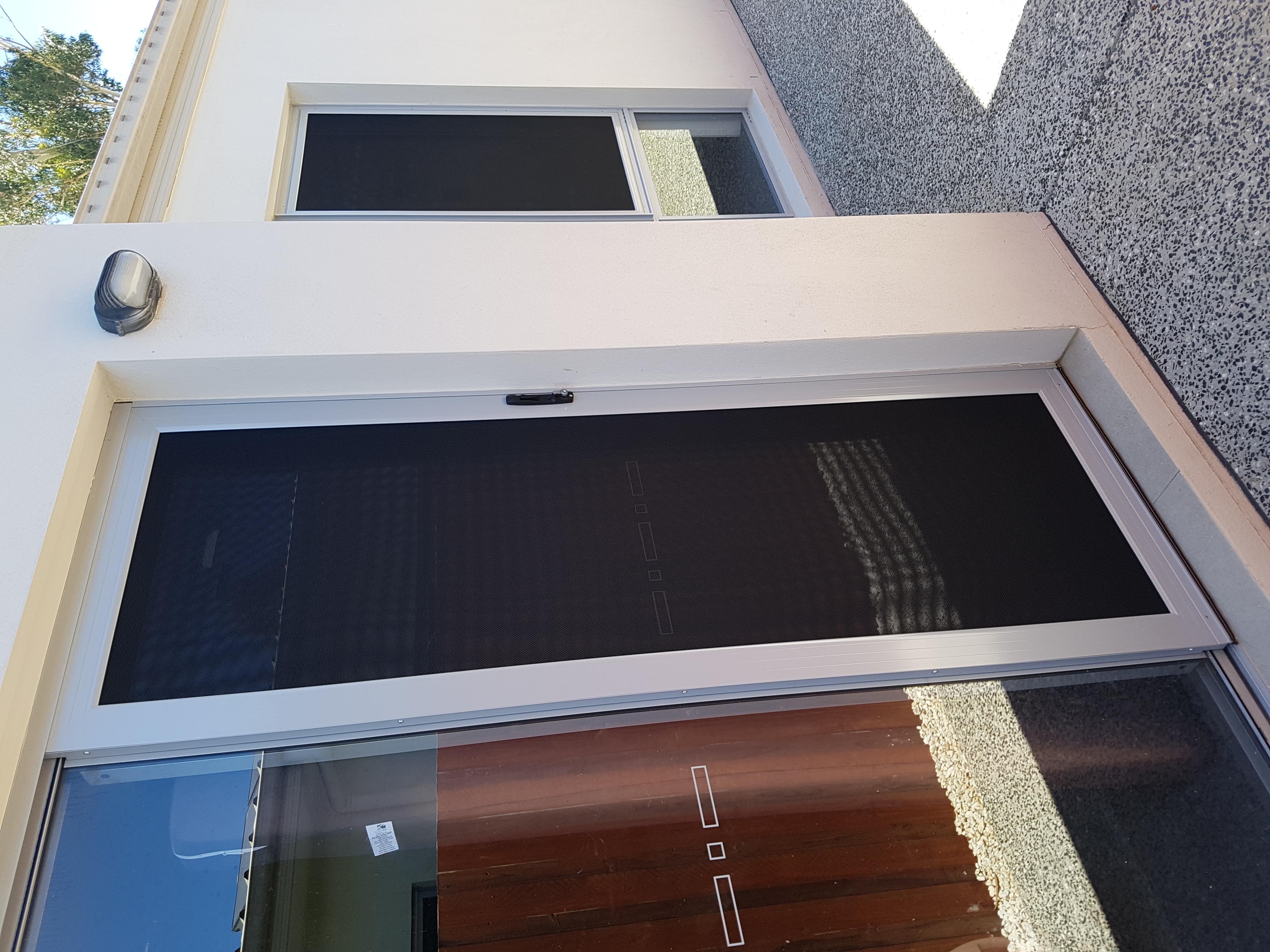 Sliding security door, Redland Bay