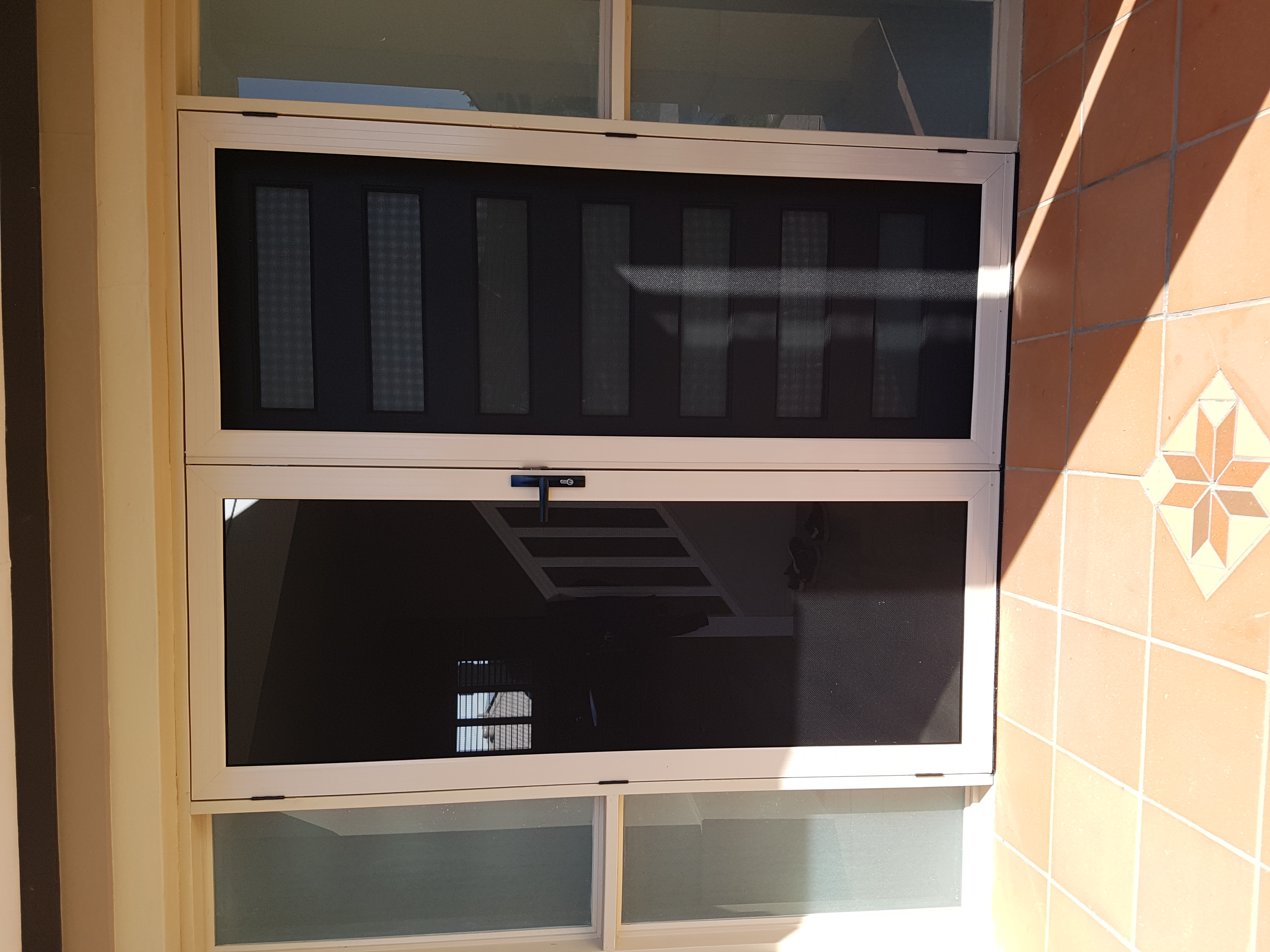 Stretton - double front security doors close up