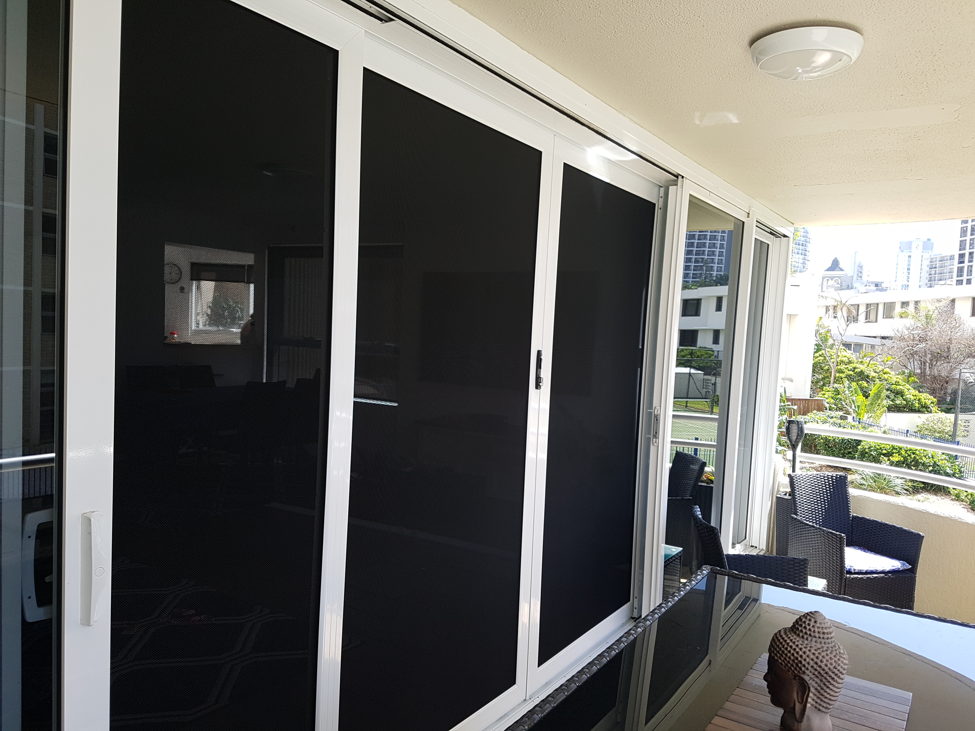 Surfers Paradise - sliding stacking security doors