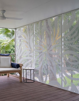 Decoview perforated privacy screen