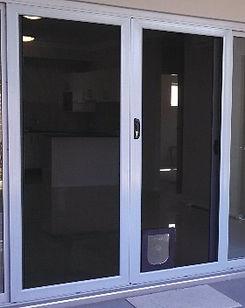 Panther Protect stainless steel mesh security door sliding doors