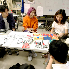 CalArts鳥海さん、今木くん、石田くん3名の座談会をしました!