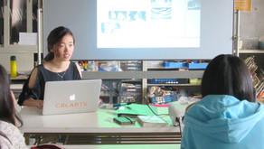 CalArts鳥海さんのアニメーションワークショップを開催しました