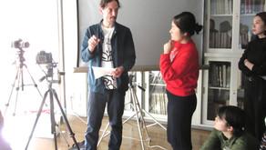 ボンマス芸大(UK)の教員によるワークショップ&インタビュー開催!