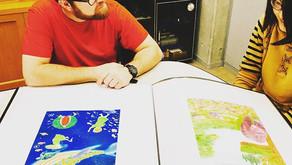 イギリス、UCA芸術大学教員よるワークショップ、入学審査を開催しました。