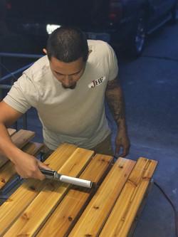 Sealing Deck Boards