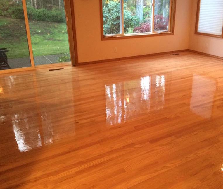 Oak Hardwood Install
