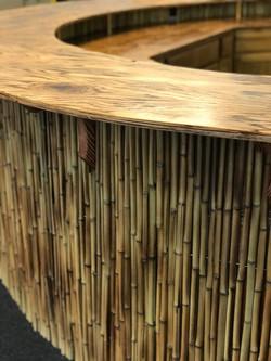 Tiki Bar with Bamboo