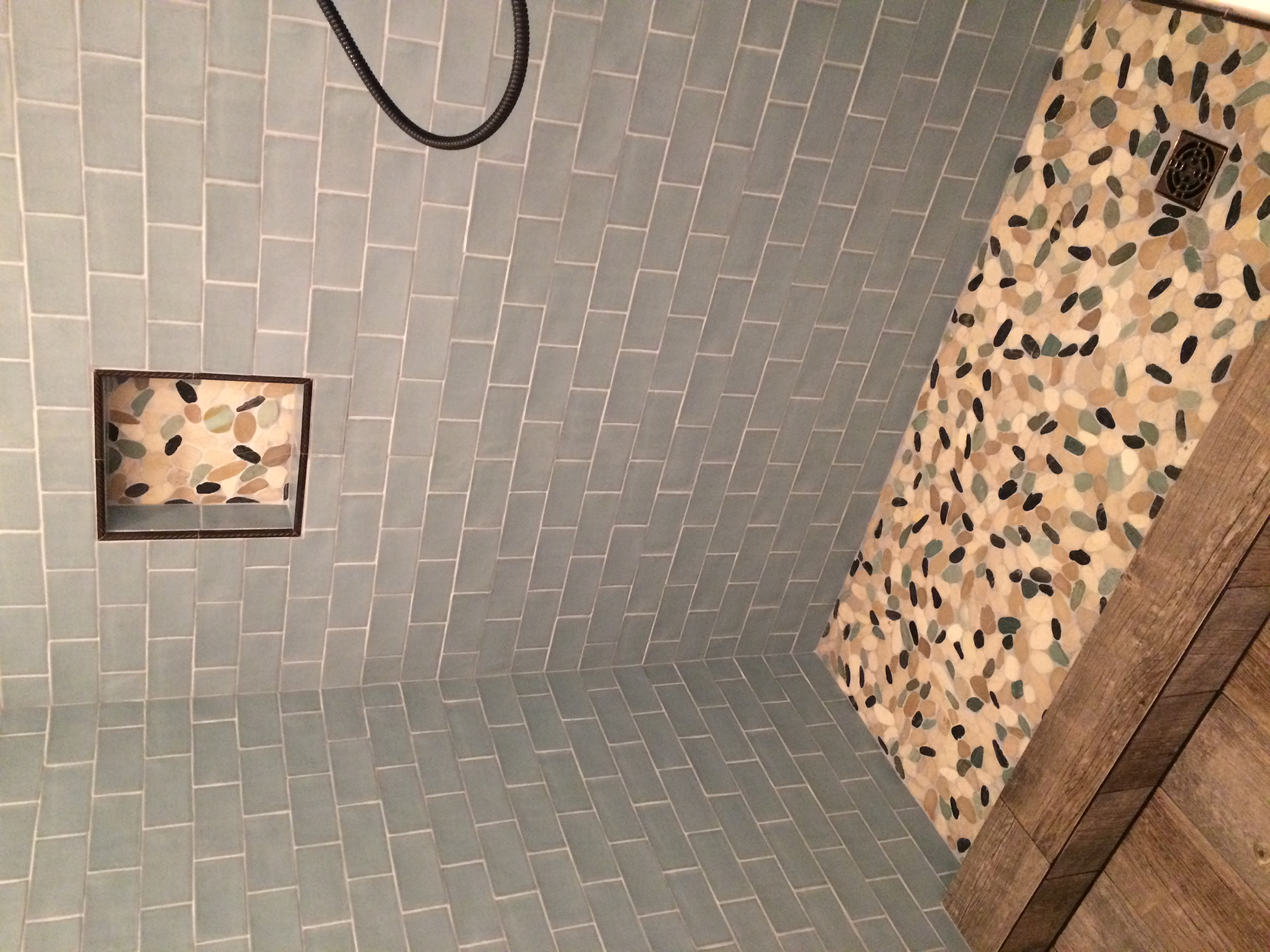Shoer Tile Surround and Floor Instal