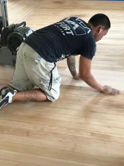 Checking Flatness on Hardwood