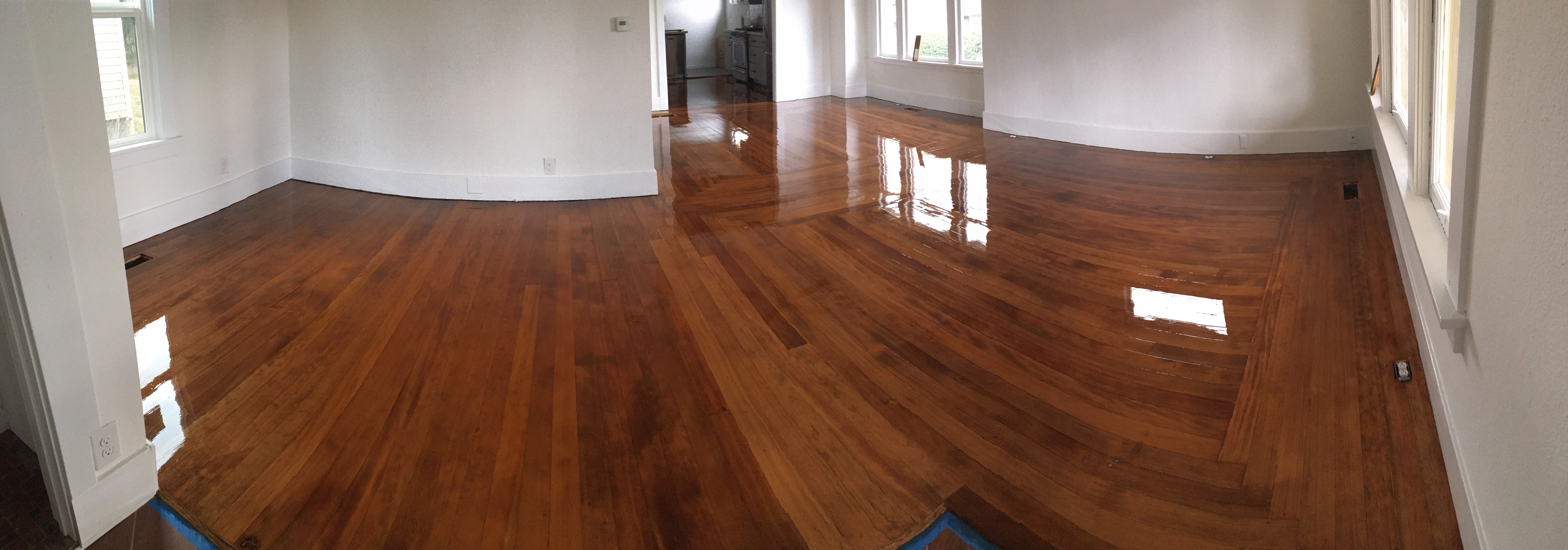 Hardwood Refinish and Stain
