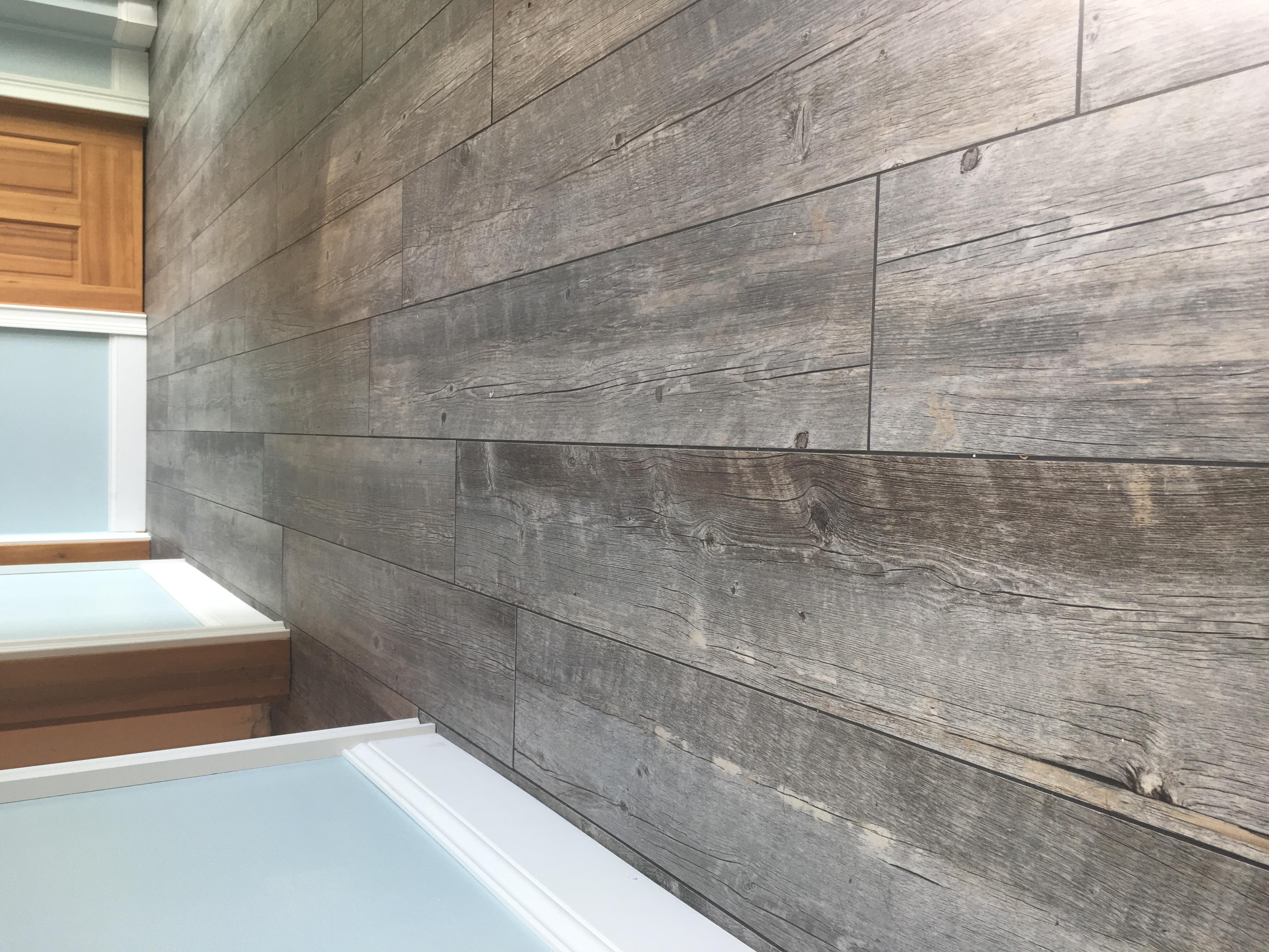 Wood Look Tile Installation