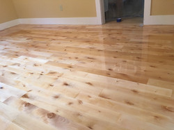 Birch Hardwood Refinish