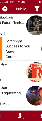 Garnet - a social network that allows people to monetise their social influence