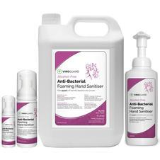VIROGUARD Alcohol Free Anti-Bacterial Foaming Hand Sanitiser