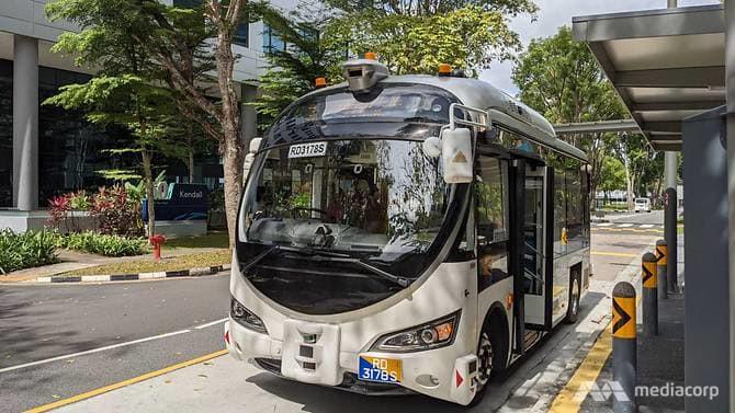 GPS Lands powers autonomous bus trial in Jurong Island