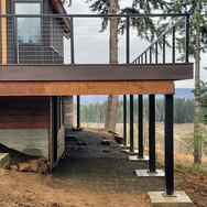 trex deck and railing