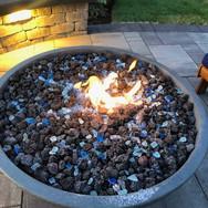 fire bowl.