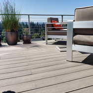 trex decking, cable railing