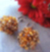 Оплетенные бусины бисер