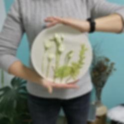 ботанический барельеф
