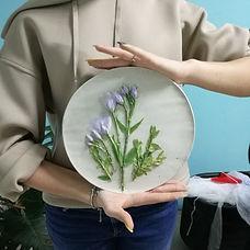 растения в керамике