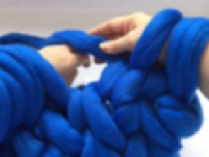 Мастер-класс по вязанию руками