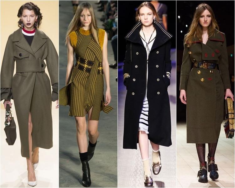 модные тренды пальто