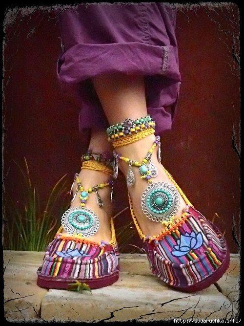 Бохо обувь
