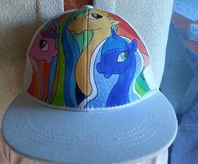 Роспись кепок