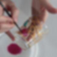 Роспись стекла акриловыми красками