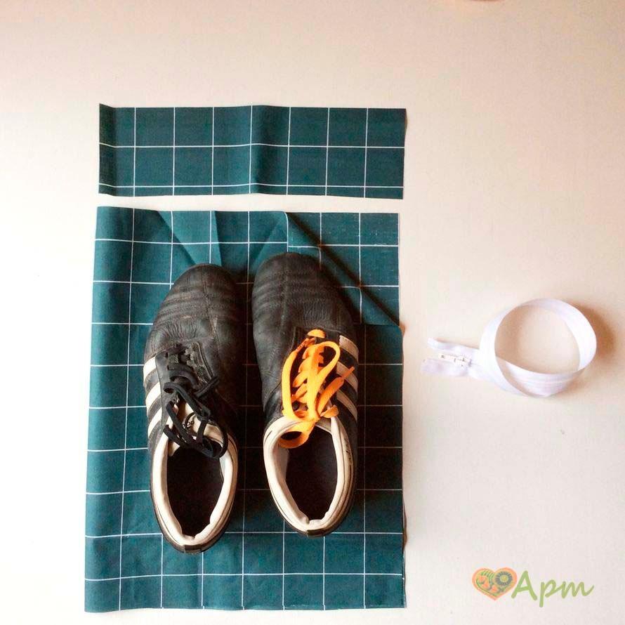 Сумка для обуви своими руками