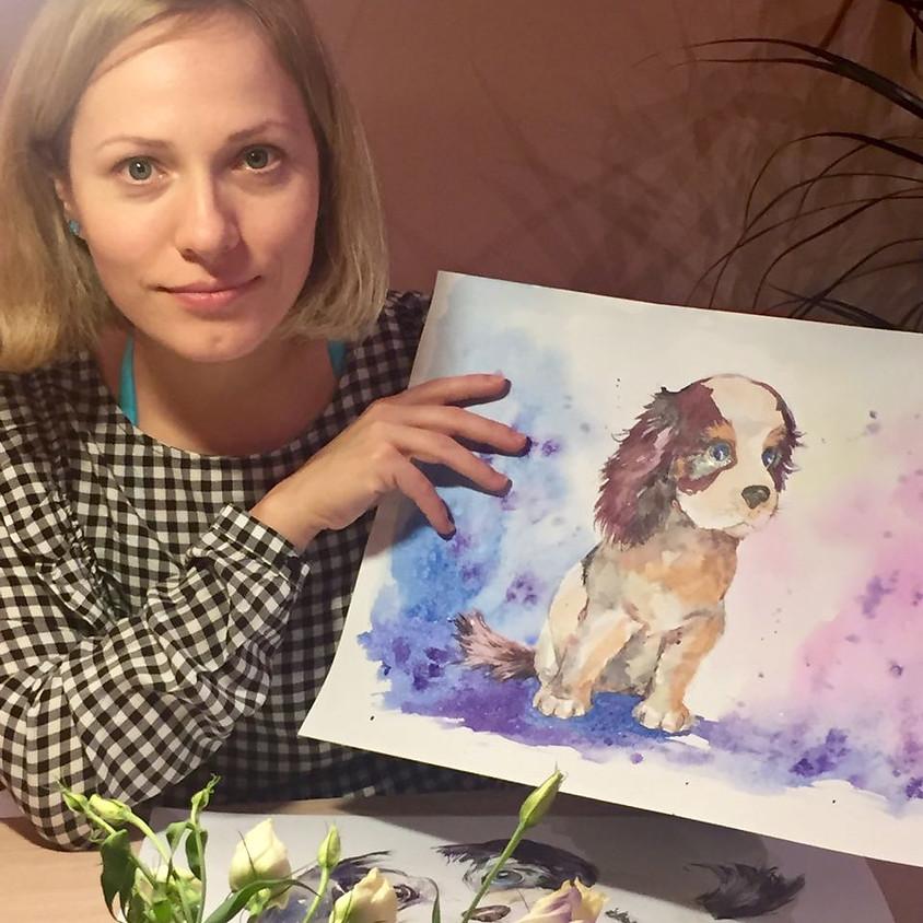 Арт-вечер по акварельной живописи с Екатериной Куклачевой