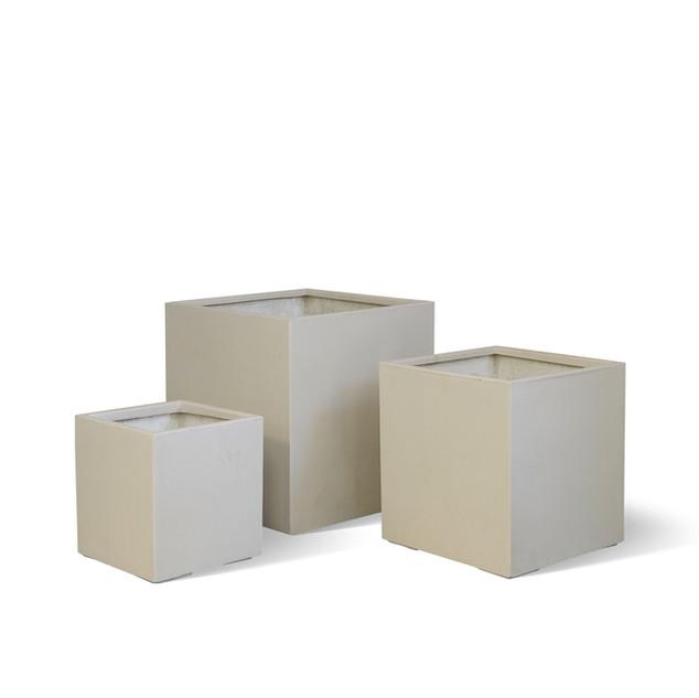 AP788 Cube Planter White