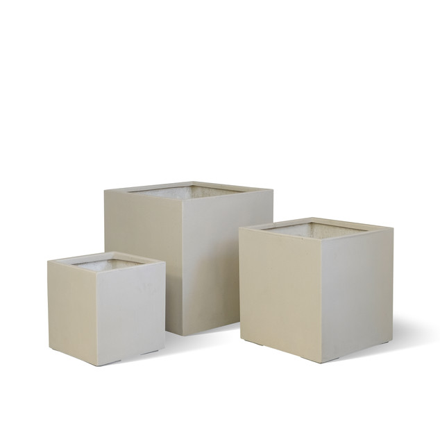 AP788 Cube Planter White