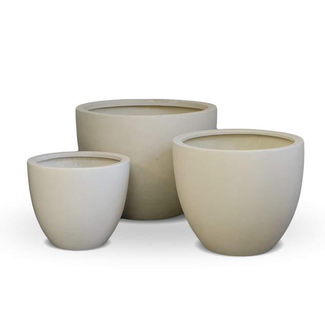 AP843 Egg Pot White