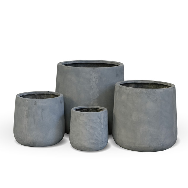 AP631 Cylinder Pot Grey