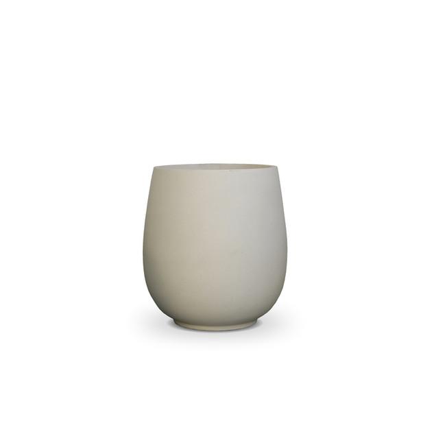 AP677 Palm Pot White