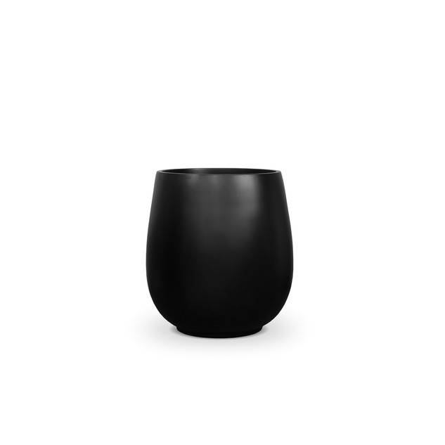 AP677 Palm Pot Matt Black