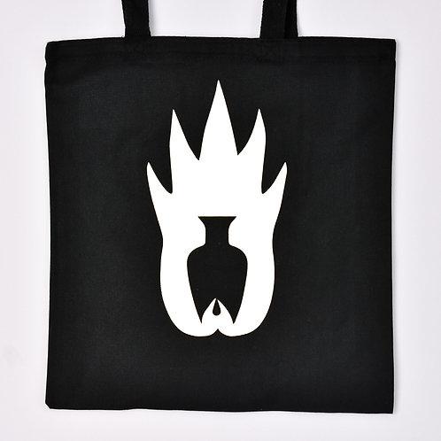 Logo Tote - Black & White