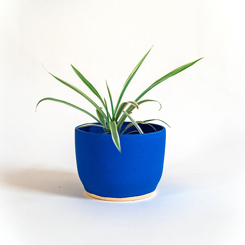 Small Planter - Persian Blue