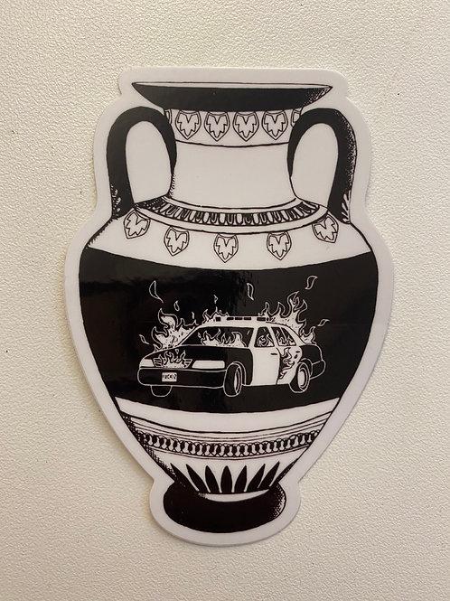 Classical Vase Sticker