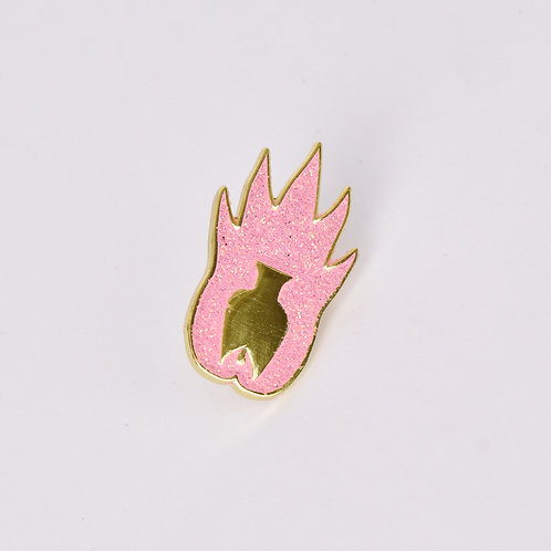 POT Logo Pin