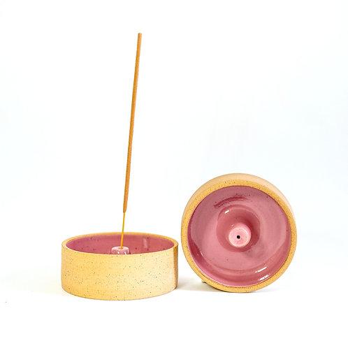 Incense Dish - Rosa