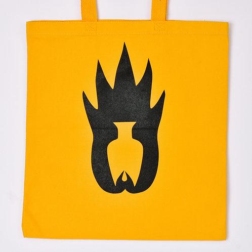 Logo Tote - Yellow