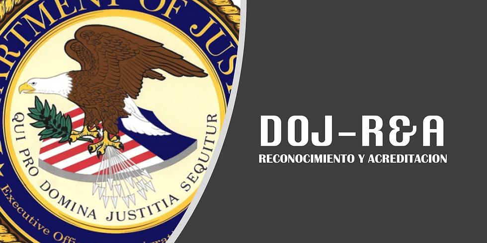 Reconocimiento y Acreditación para prestar servicios de inmigración. Webinar